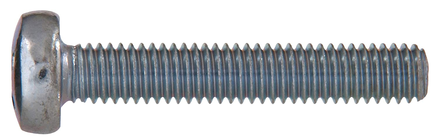 Metric Pan Cheese Phillips Machine Screw The Hillman Group 43154 M6-1.00 x 60-Inch 10-Pack