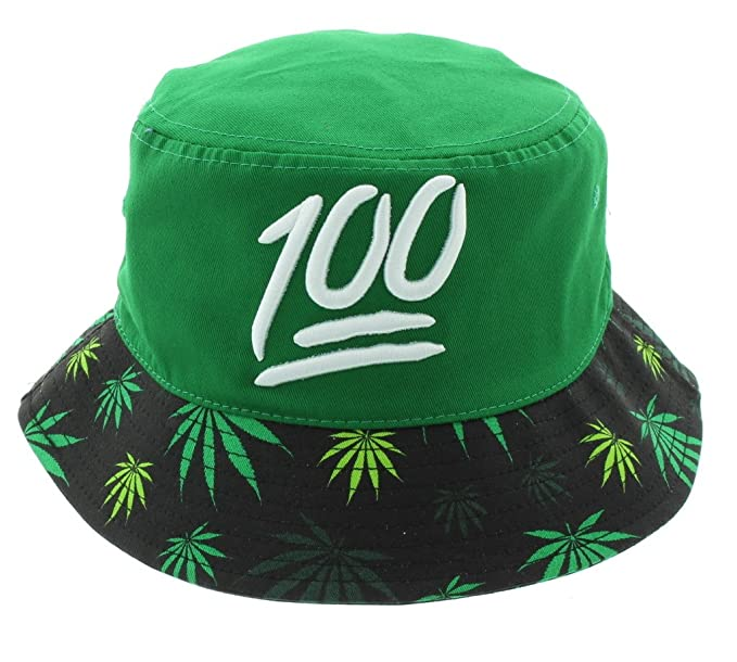 1853b743807 Keep It 100 Mary Jane Weed Bucket Hat at Amazon Men s Clothing store