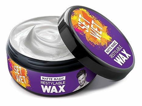 Set Wet Hair Wax, Matte Magic, 75g