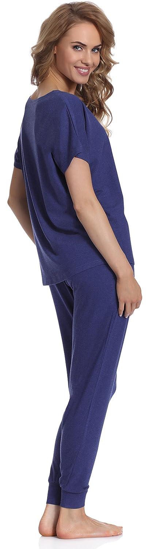 Merry Style Pijamas Mujer Verano Camisetas Pantalones Modelo 524: Amazon.es: Ropa y accesorios