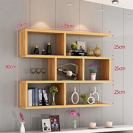 Clothes Uk Creative Wall Mount Bookshelf Living Room Modern Simple