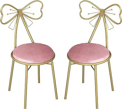 EKR Makeup Vanity Chairs 2 Set