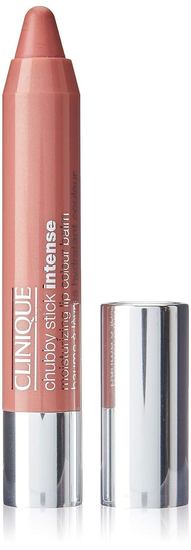 Clinique Chubby Stick Intense Moisturizing Lip Color Balm, No. 01 Curviest Caramel, 0.1 Ounce