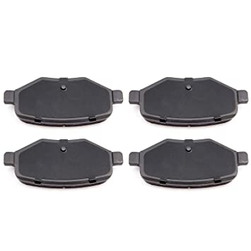 Rear Ceramic Brake Pads for Ford Edge Explorer Flex Taurus Lincoln MKS MKT MKX