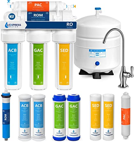 Express Water RO5DX 5 Stage Reverse Osmosis System