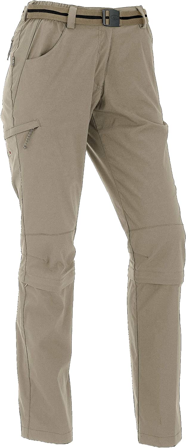 Maul Trail Insect Shield Womens Outdoor Capri Zip Off Trousers
