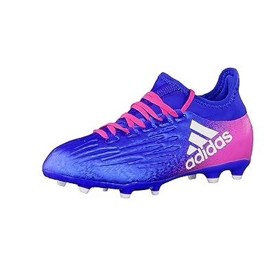 adidas X 16.1 FG J, Chaussures de Foot Garçon, Rot Und