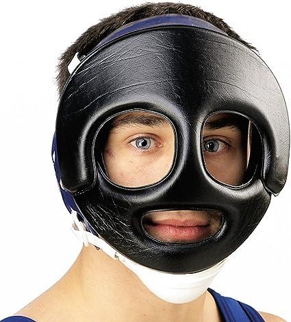 BEST VALUE ! Cross Face Face Guard Wrestling Headgear Cliff Keen