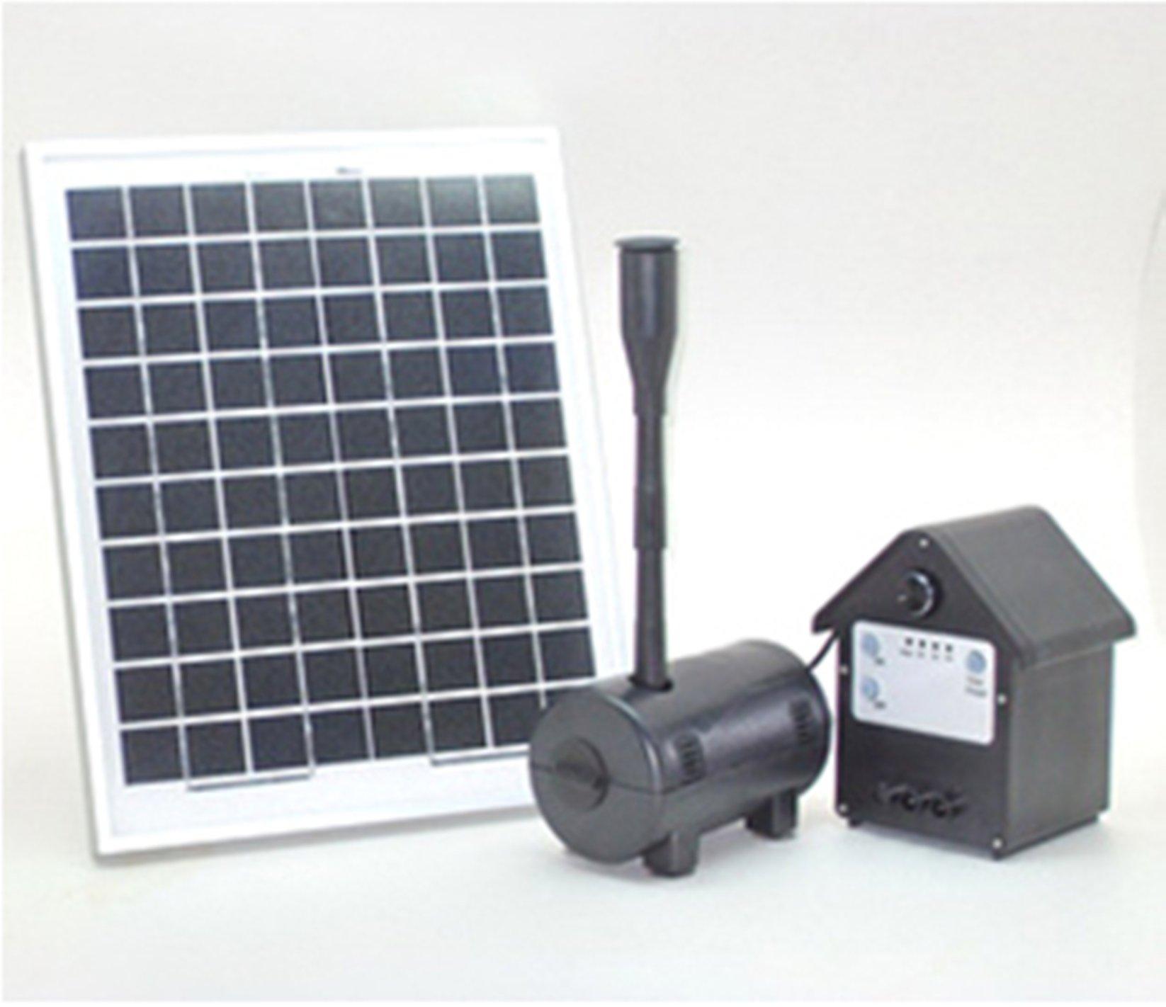 10 Watt Solar Powered Outdoor Garden Water Pump Landscape Fountain Kit