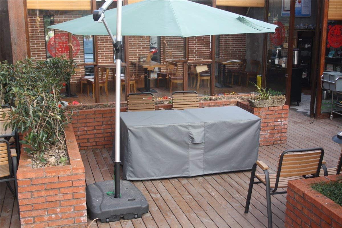 170x95x70cm cubierta resistente a la intemperie para mesas cuadradas sillas impermeable transpirable Oxford cubierta de muebles PATIO PLUS Cubierta protectora para mesa de jard/ín rectangular