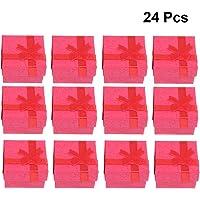 OUNONA 24 Piezas Joyería Organizador Caja de Regalo