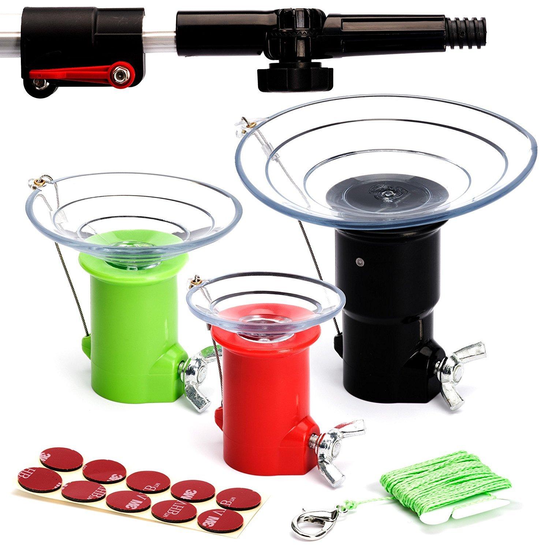STAUBER Best Bulb Changer Kit with STAUBER Quick-Lock Bulb Changer Extension Pole - 22 Feet