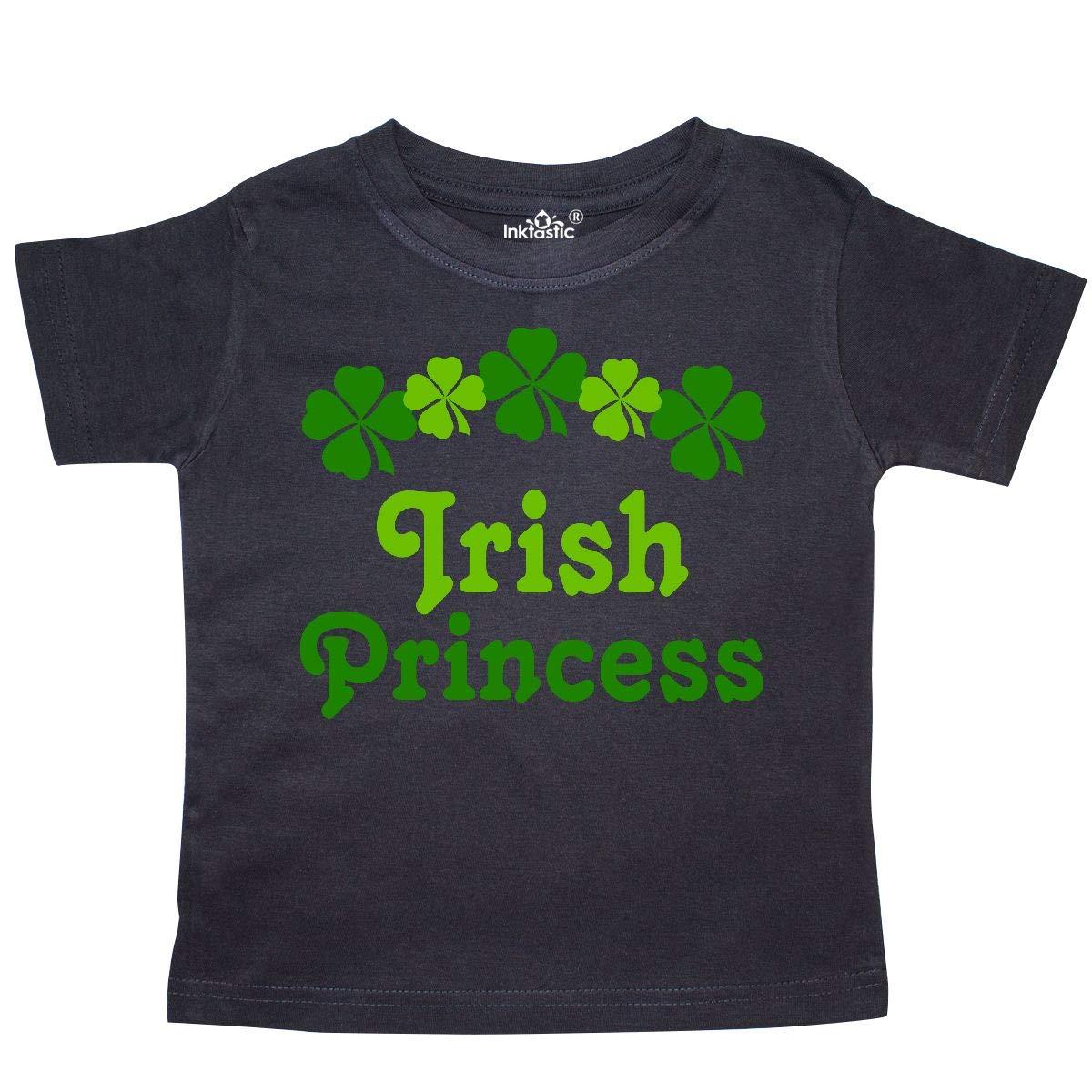 inktastic Irish Princess Toddler T-Shirt Clover