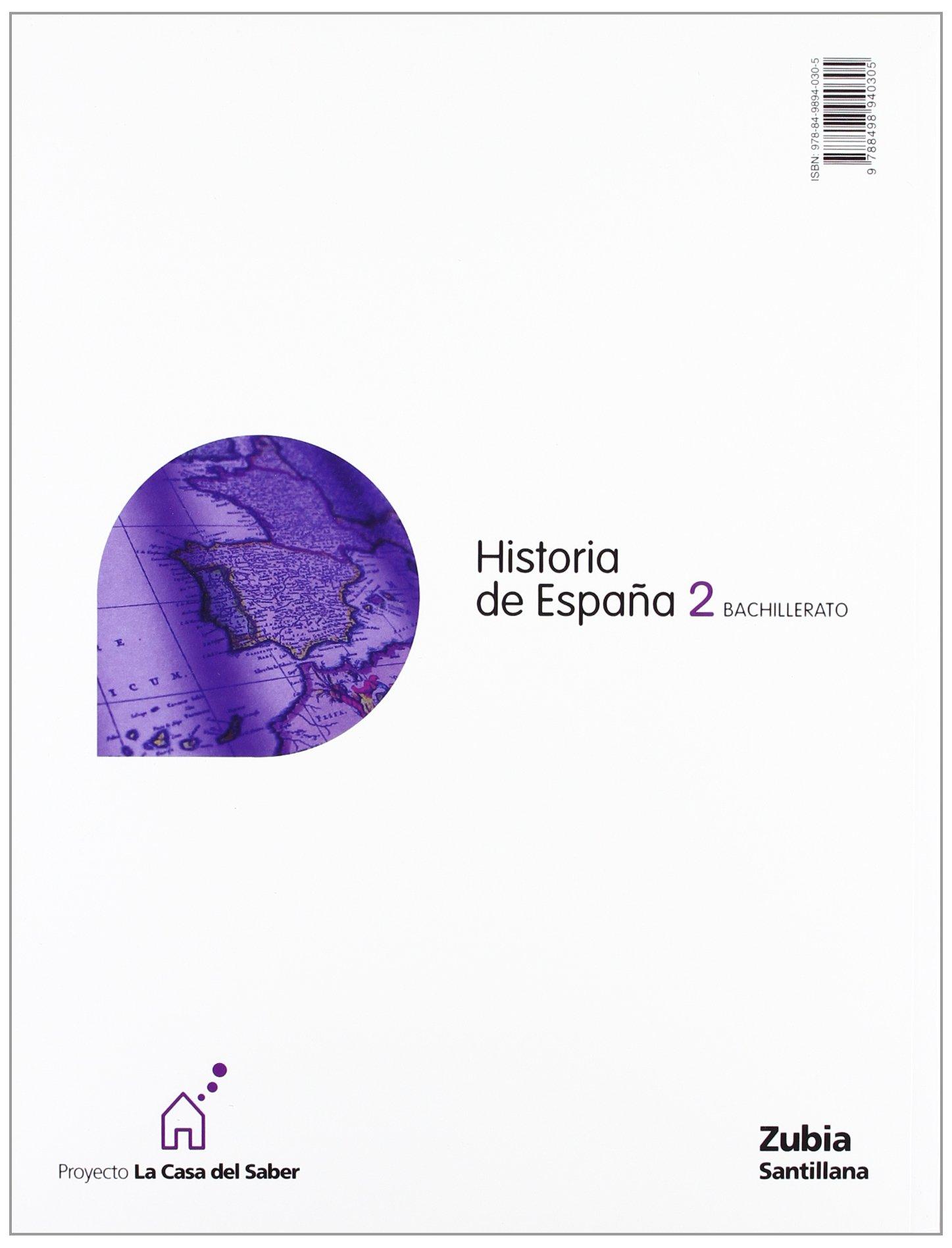 Historia de España 2 Bachillerato La Casa Del Saber Euskera Zubia ...