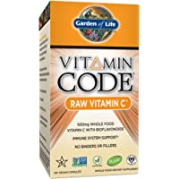 120-Capsules Garden of Life C Vitamin Whole Food Supplement