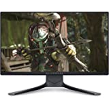 Alienware 25 AW2521HF 24.5 inch Gaming Monitor (Dark) 1ms GtG RT, FHD IPS LED Backlit FHD at 240 Hz Refresh Rate, AMD…