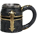 Medieval Times Crusader Knight Mug Tankard 13oz