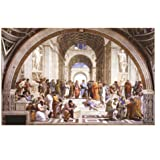 (24x36) Raphael School Of Athens Art Print Poster