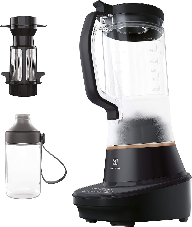 Electrolux Explore 7 - Licuadora (1,5 L, Sensor, Batidora de vaso, Negro, 1 m, Acero inoxidable)