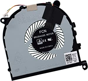 Deal4GO CPU Cooling Fan VJ2HC 0VJ2HC DC28000IQF0 (Left Side Fan) Replacement for Dell XPS 15 9560 9570 Precision 5520 5530