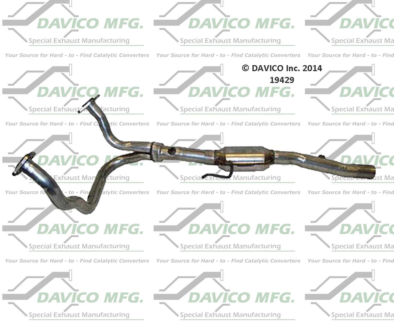 Davico 17327 Catalytic Converter