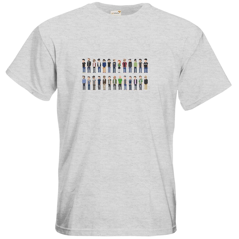 getshirts - Rocket Beans Classic - T-Shirt - Retro Collection - Pixelbohnen:  Amazon.de: Bekleidung