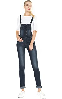 aec12c2ac7c Amazon.com  PattyCandy Womens Jumpsuit Overalls with Fitted Capri ...