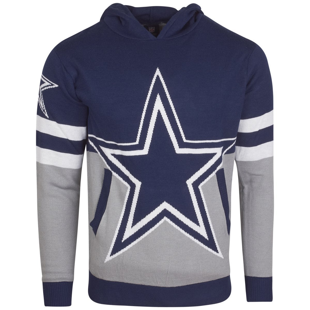 NFL Ugly Sweater Big Logo Hoody – NFL Dallas Cowboys Forever Collectibles