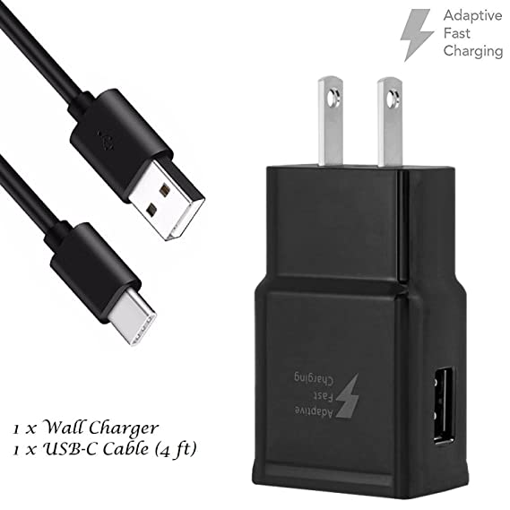Amazon.com: T-Mobile Motorola Moto Z Charger Fast Charger Type C ...