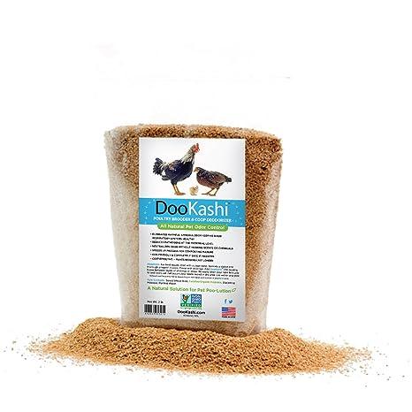 Dookashi Desodorante para desodorante de aves de corral y abono