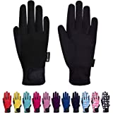ChinFun Kids Horse Riding Gloves Children Equestrian Gloves Child Youth Boys Girls Mittens Perfect for Biking Cycling Riding
