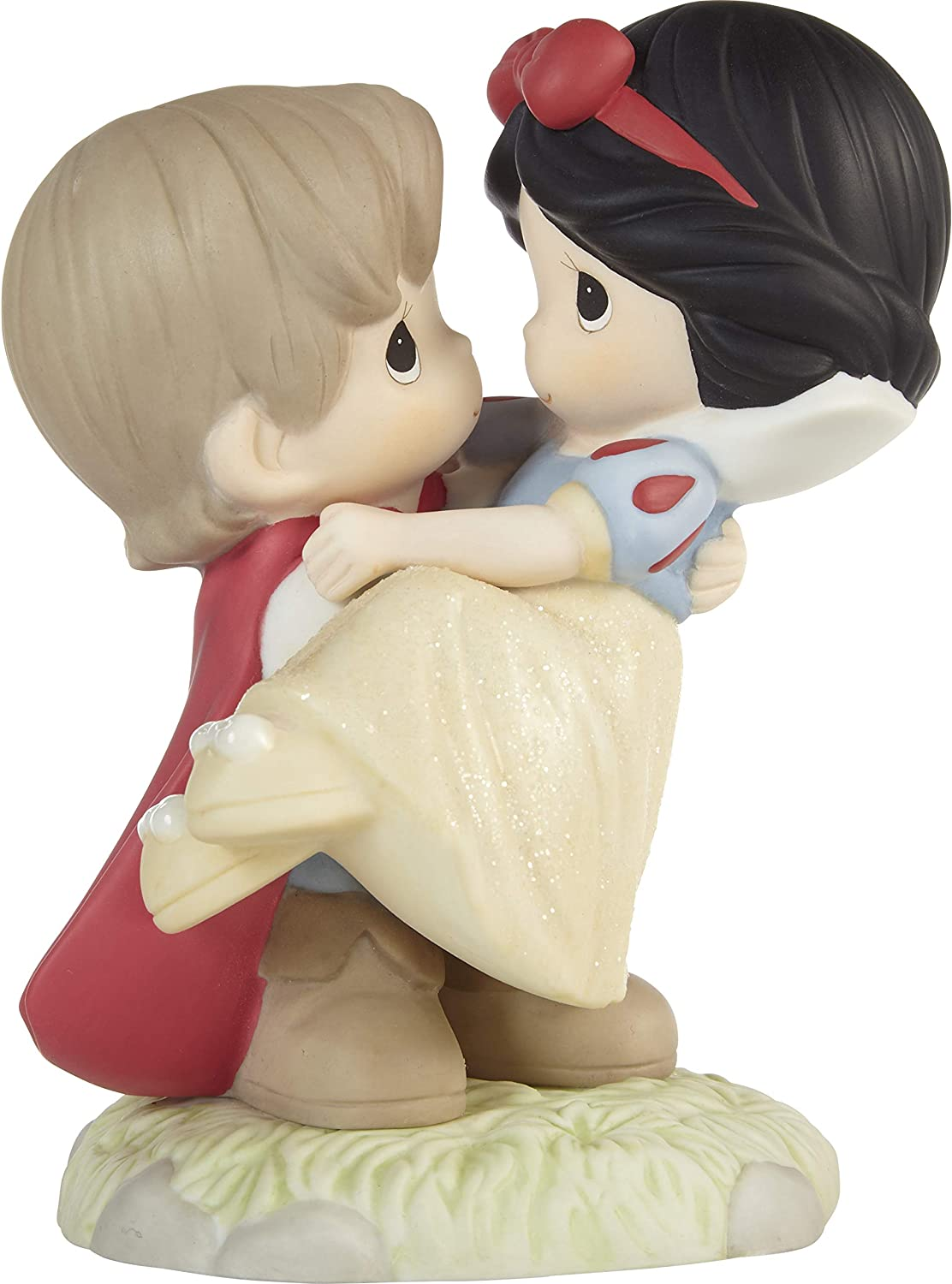 Precious Moments 203064 Disney Snow White and The Seven Dwarfs and They Lived Happily Ever After Bisque Porcelain Figurine