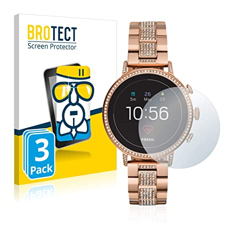 BROTECT Protection Ecran Verre Compatible avec Fossil Q Venture HR (4.Gen) [3 Pièces]: Amazon.fr: High-tech
