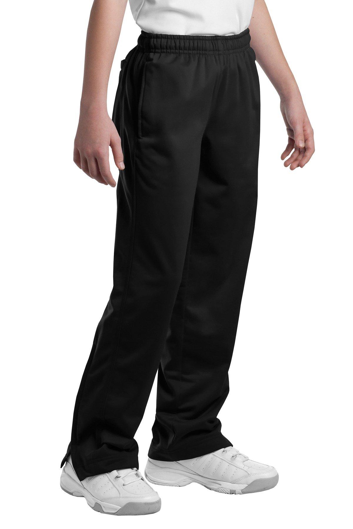 Sport-Tek Boys' Tricot Track Pant XS Black