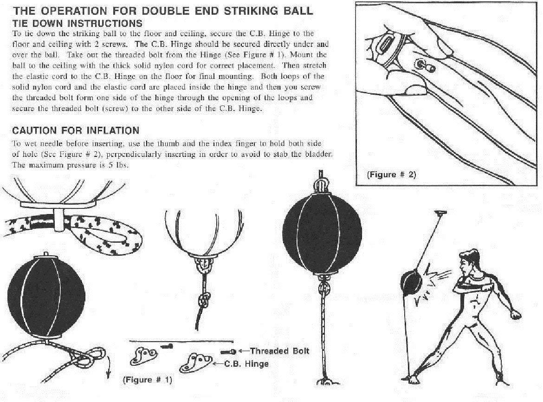 MEHRWEG RDX Boxen Doppelendball Set Boxbirne Drehwirbel Speedball Punchingb/älle