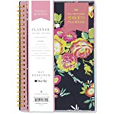 "Day Designer for Blue Sky 2018 Weekly & Monthly Planner, Twin-Wire Binding, 5"" x 8"", Peyton Navy"