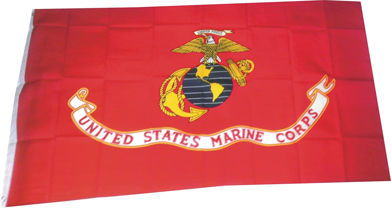 US MARINE CORPS FLAG  Polyester 3/' x 5/'