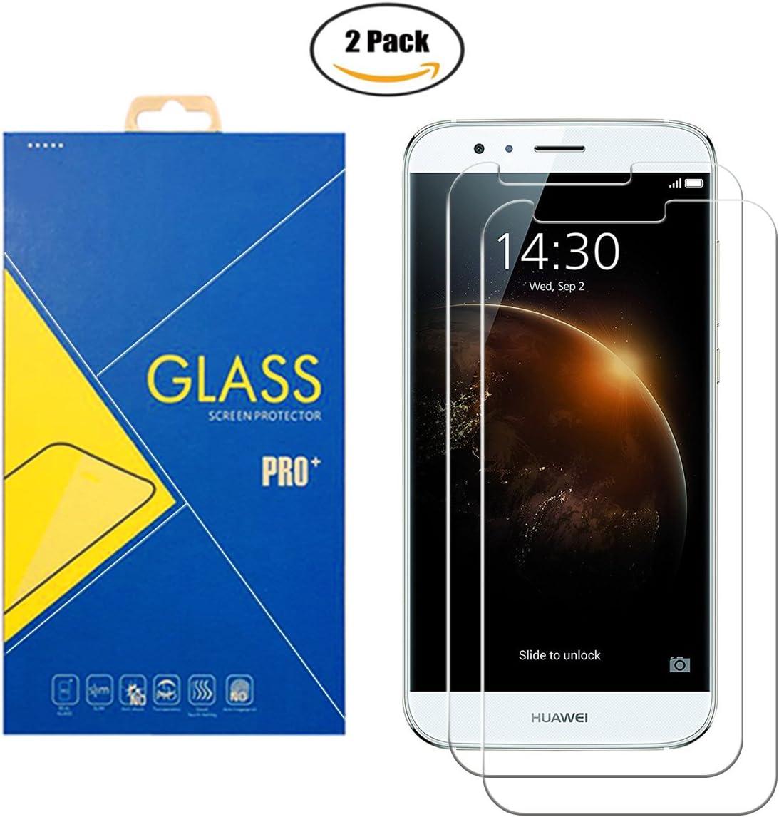 2 Pack] Protector Cristal Vidrio Templado Huawei G8 / GX8 / G7 ...