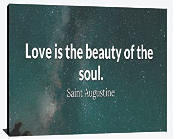Amazoncom Love Is The Beauty Of The Soul Saint Augustine