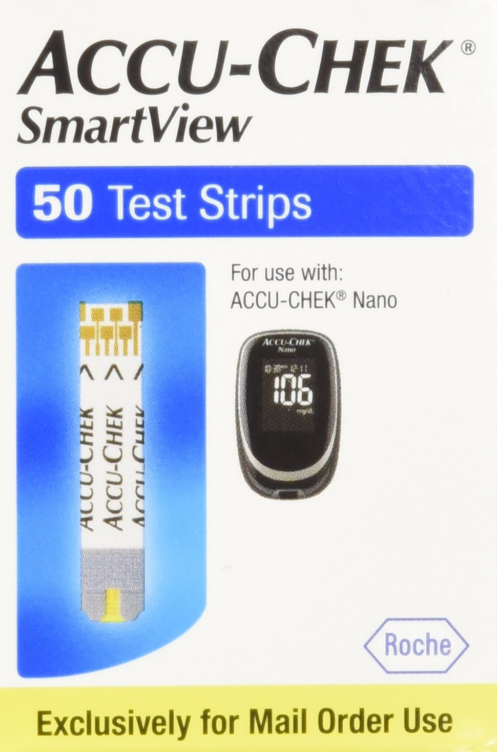 Smartview Accu Chek Smart View Test Strips 50 Strips by SmartView