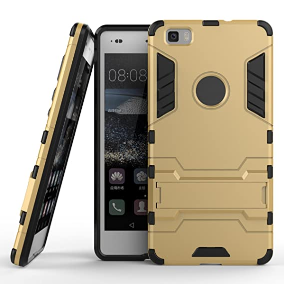 Amazon.com: BCIT HuaWei P8 Lite Case - Dual Layer Full Body ...