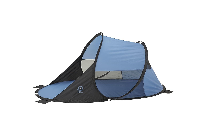 UV40 302201 azul//negra tienda de playa tipo concha instant/ánea protecci/ón contra el sol y el viento GRAND CANYON Waiikiki
