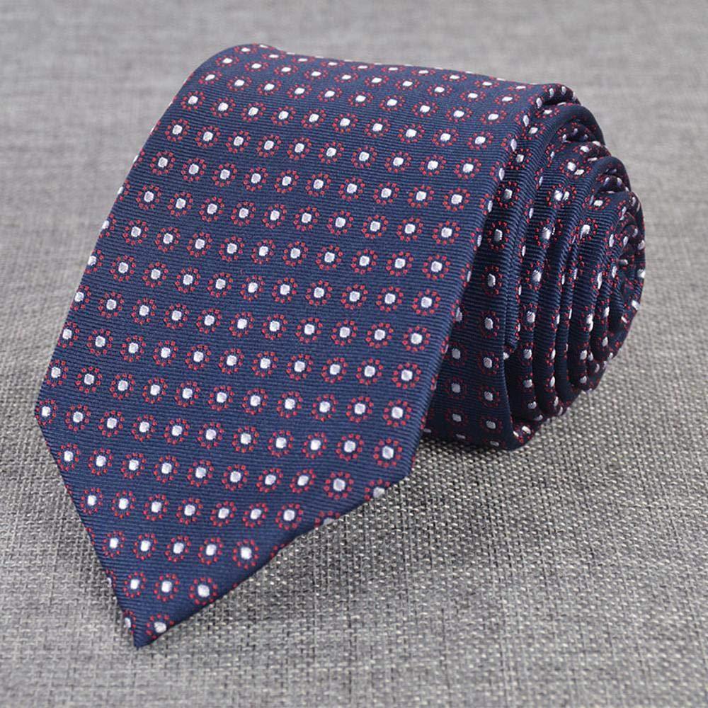 Littlefairy Hombre Designer Corbata,Corbata de Seda para Hombre ...