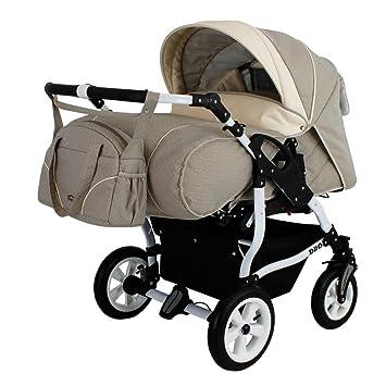 Zwillingskinderwagen mit babyschale  Adbor Duo Spezial Zwillingskinderwagen mit Babyschale ...