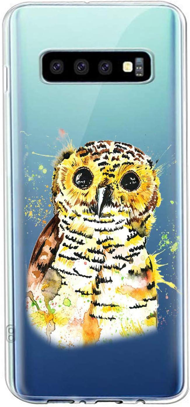 Oihxse Compatible con Samsung Galaxy C9 Pro Funda Suave Gel TPU Silicona Cristal Transparente Carcasa Acuarela Animal Pintado Patrón Protectora Estuche Bumper Caso Case (B6): Amazon.es: Electrónica