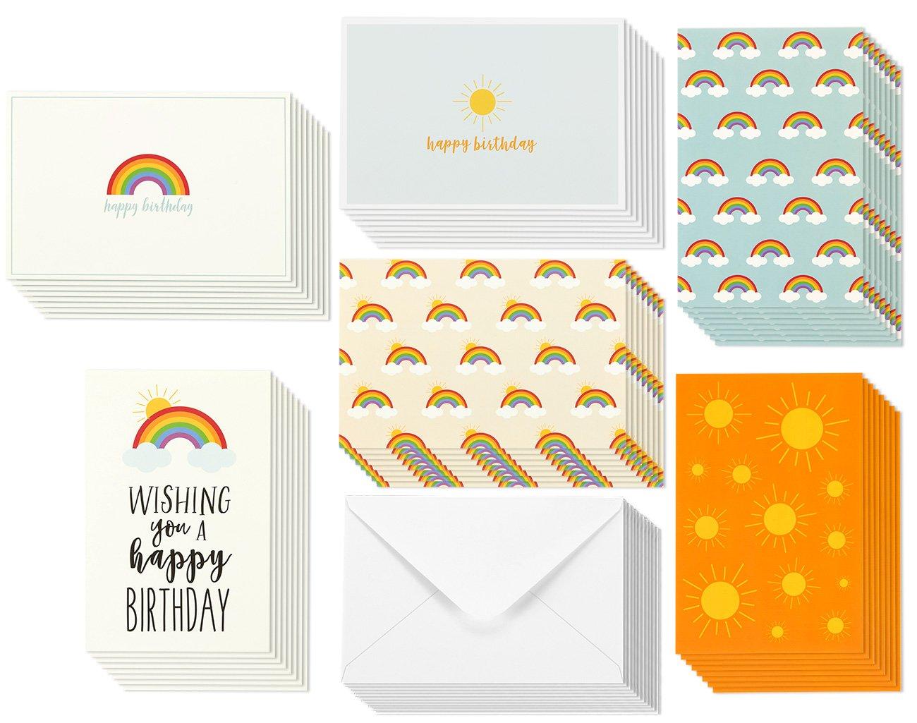 Amazon 48 Assorted Birthday Cards Envelopes 999 Shipped – Assorted Birthday Cards in Bulk