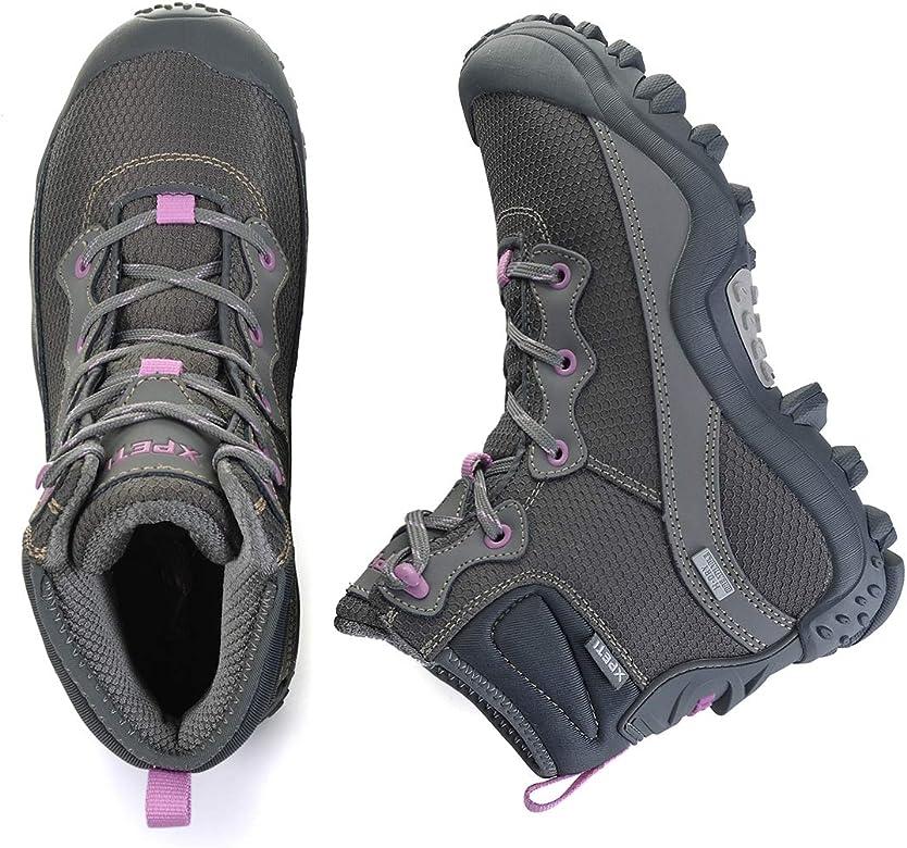 Mid Waterproof Trekking Outdoor Boot SKENARY Womens Dimo Hiking Boots