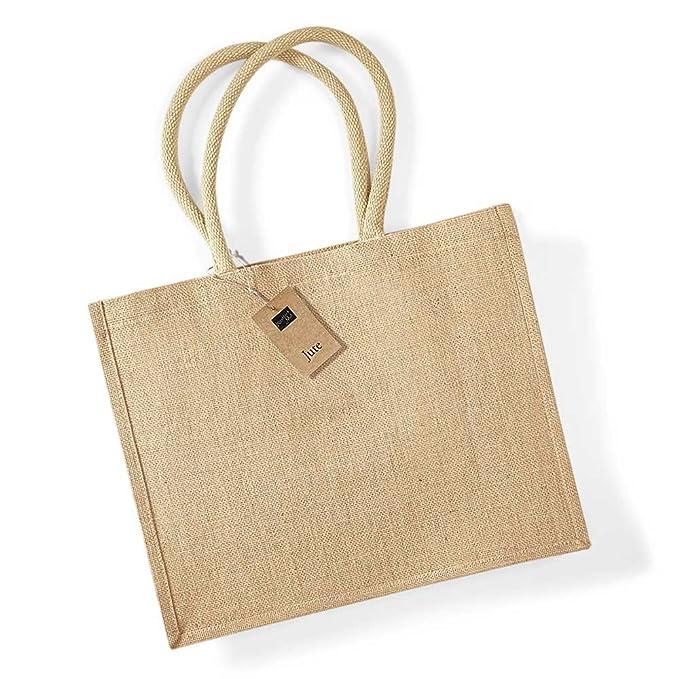 Westford Mill Classic Jute Shopper Bag: Amazon.es: Ropa y ...