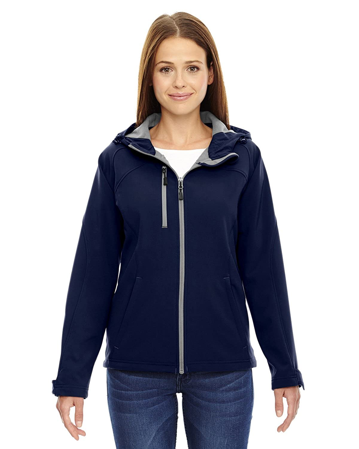 Ash City Women's Soft Shell Water Resistant Jacket Ash City - North End M10174