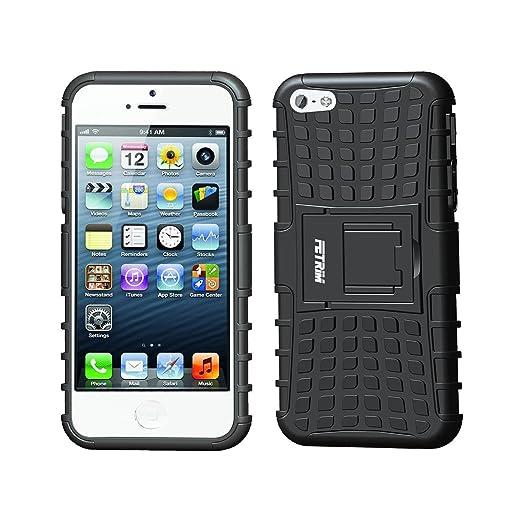 2 opinioni per Custodia iPhone 5S ,Fetrim Cover iPhone 5 , supporto anti urto Super Protettiva